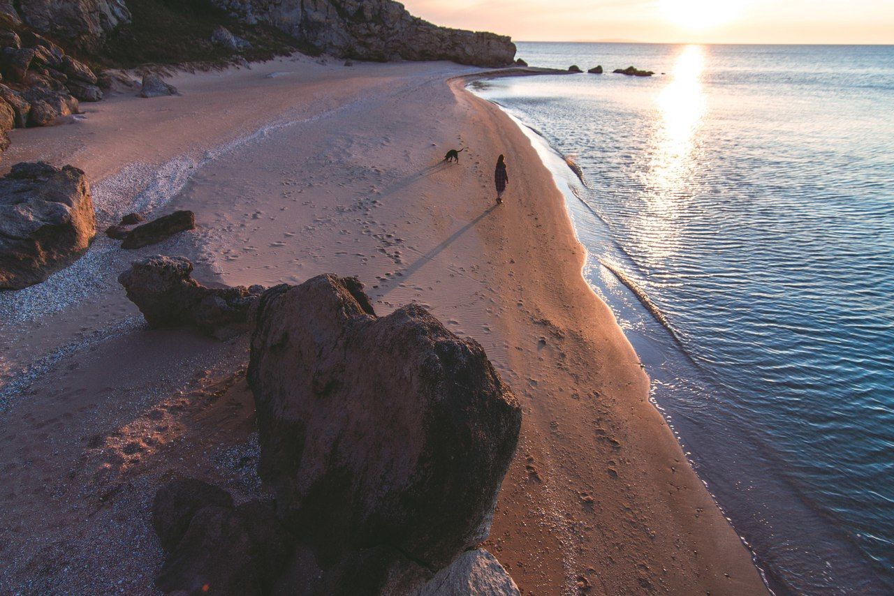 Генеральские пляжи, Крым © Фото с личной страницы Евгения Маханько во «ВКонтакте»