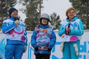 Сергей, Евгений и Наталья Белоголовцевы ©Фото проекта «Лыжи мечты»