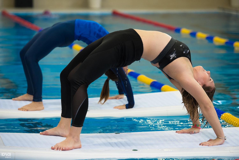Занятия по Aquaflat в Orange Fitness