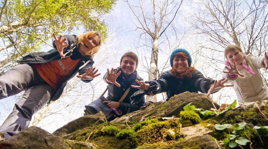 Участники поездки в Мезмай (хребет Азиш-Тау) © Фото со страницы vk.com/event163703820
