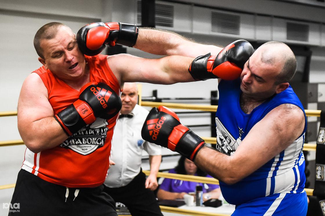 Турнир краснодарской Лиги Бокса