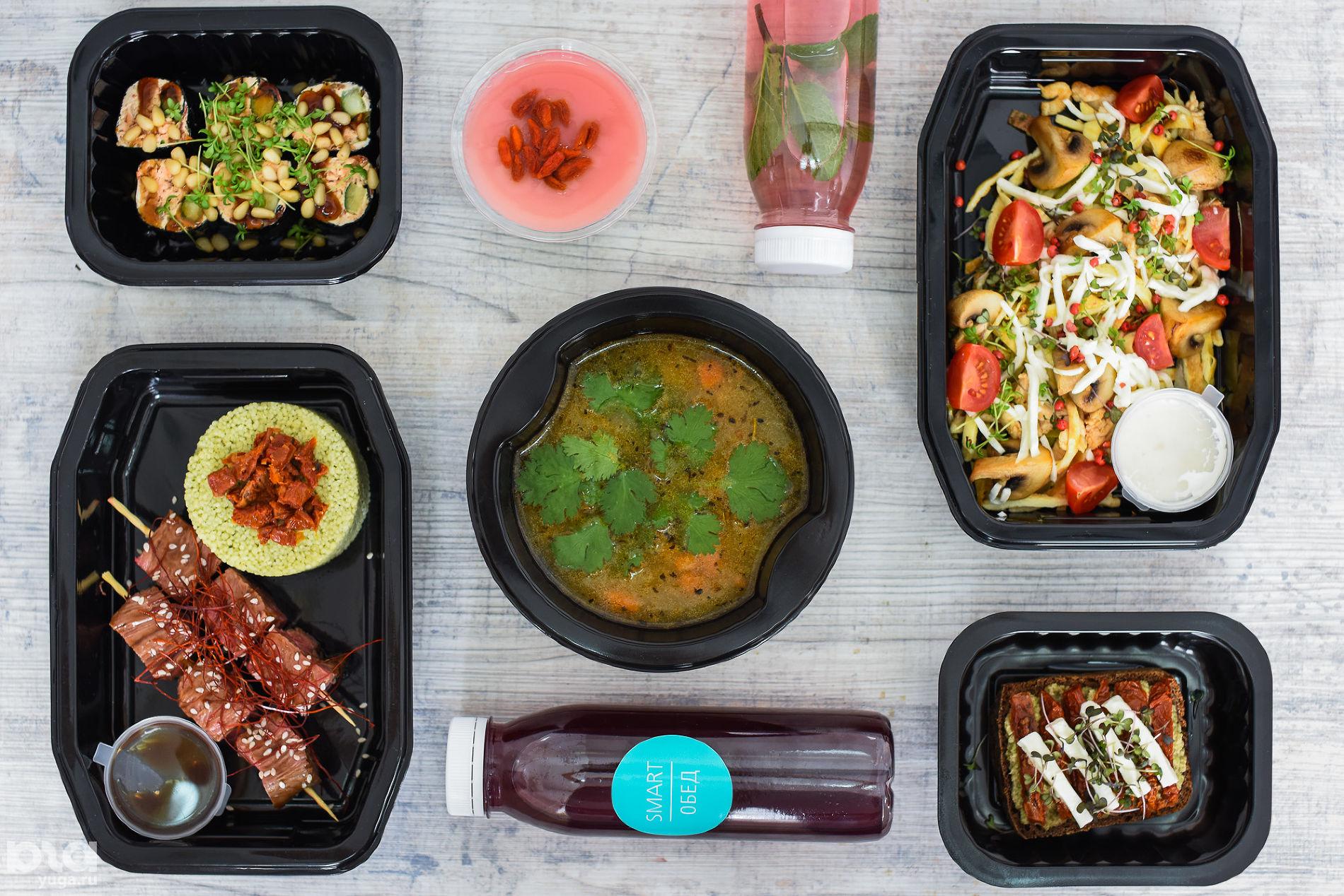 Меню сбалансированного питания на день от Smart Food