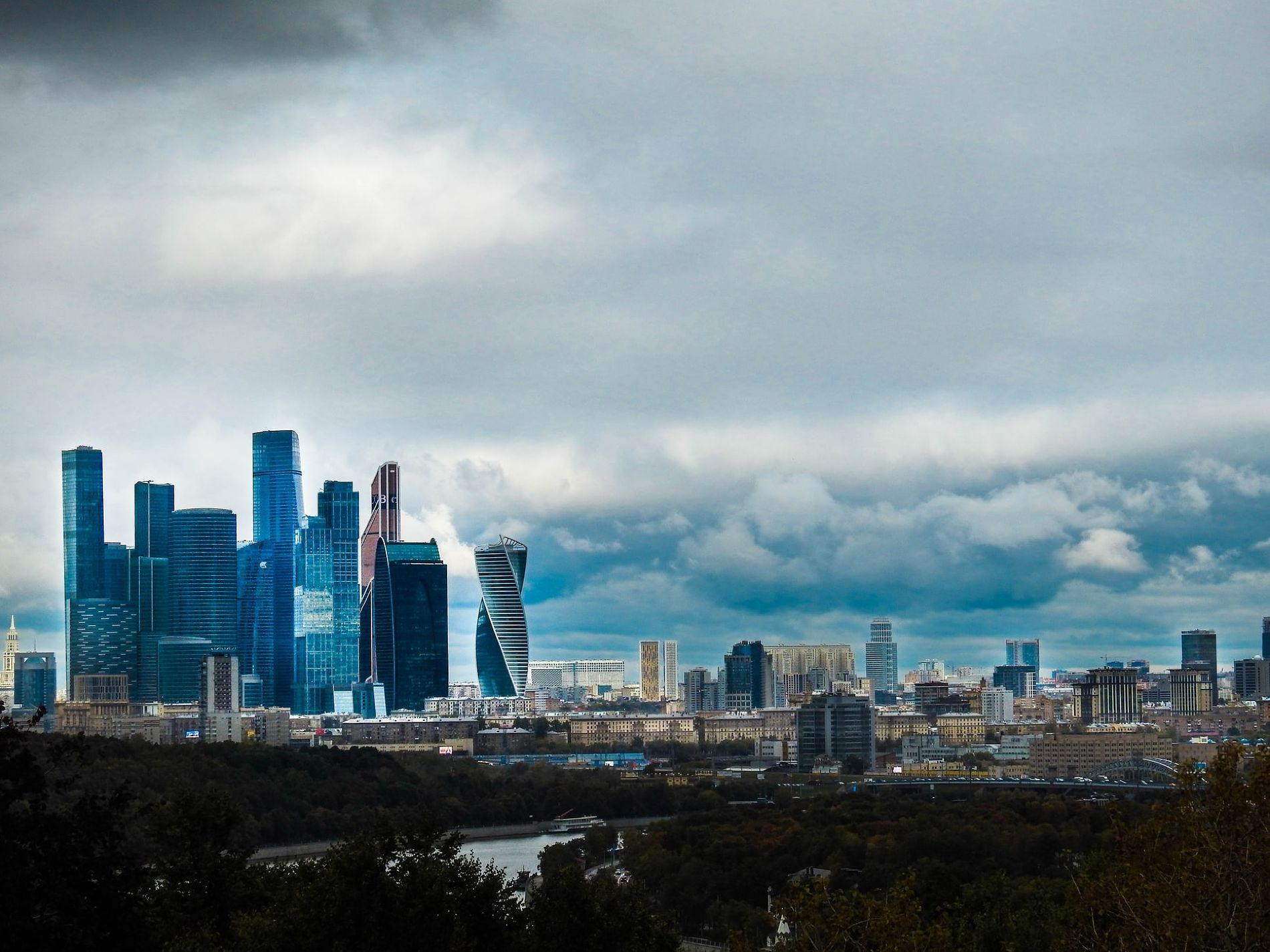 Москва © Фото Haseesh Rahithya, unsplash.com