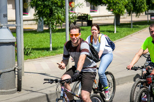 Краснодарский велопарад-2017 ©Фото Управления по делам молодёжи Краснодара