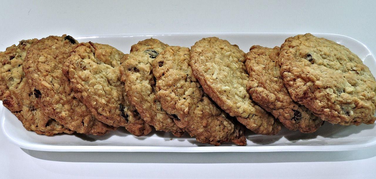 Овсяное печенье ©Изображение pixel1 с сайта pixabay.com
