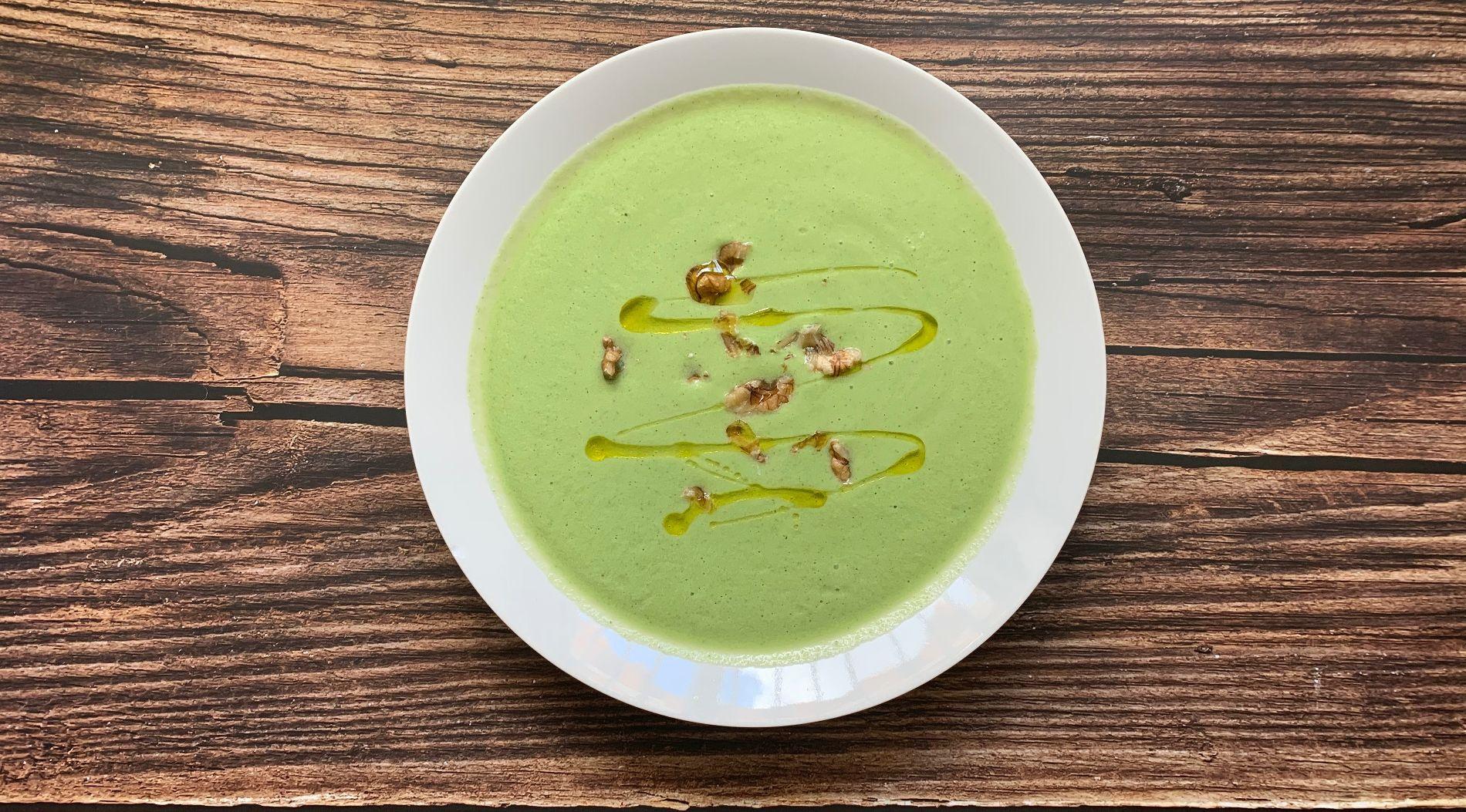 Суп-пюре из брокколи © Фото Javier с сайта pexels.com