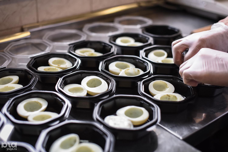 Процесс приготовления рационов Smartfood