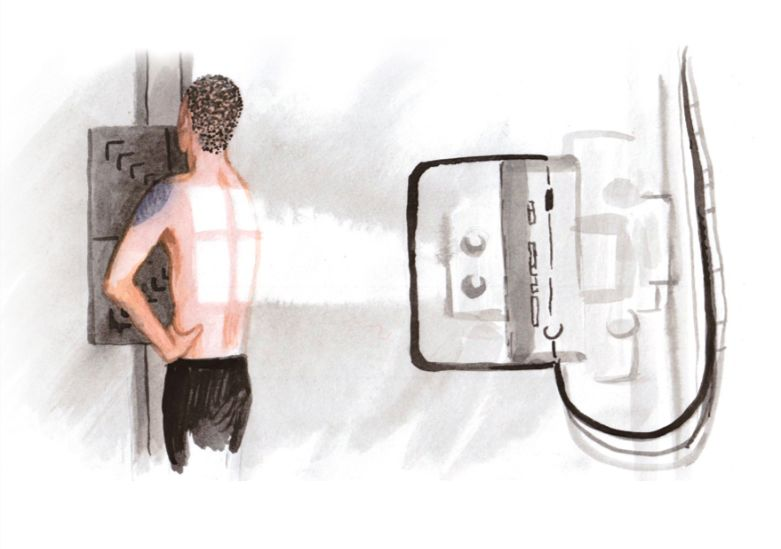 Иллюстрация из брошюры «Ты и туберкулез» © Автор — Полина Синяткина