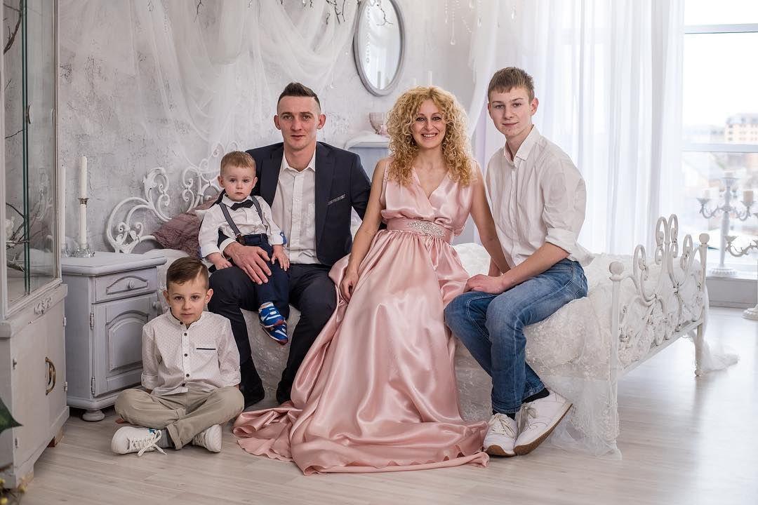 Альбина Бенц с семьей © фото из личного архива