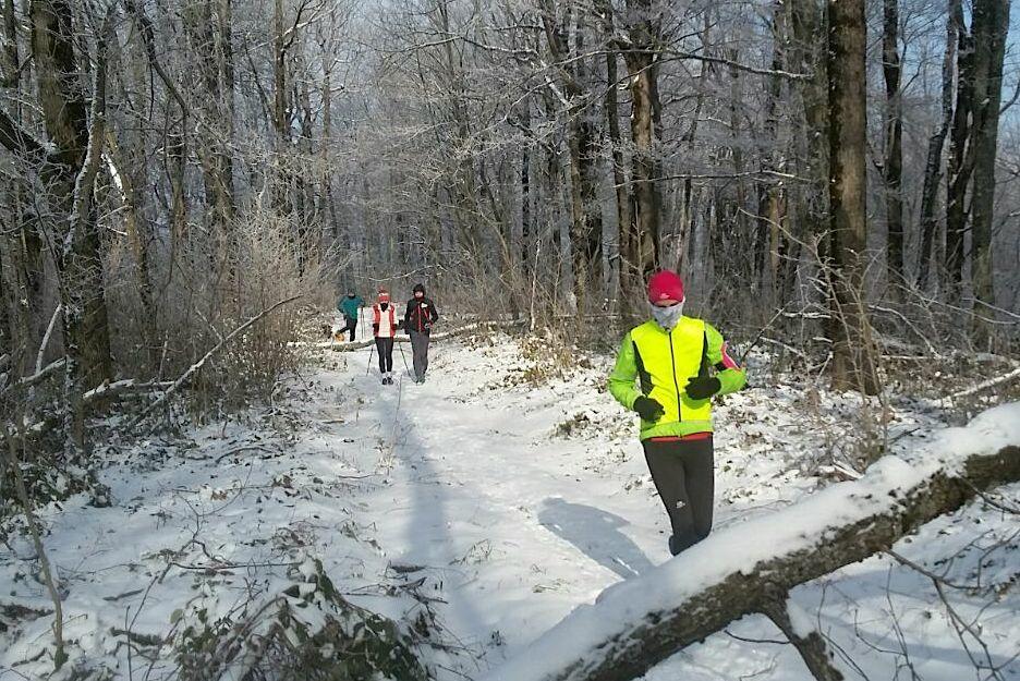 Зимняя тренировка © Фото представлено беговым клубом Up&Run Club