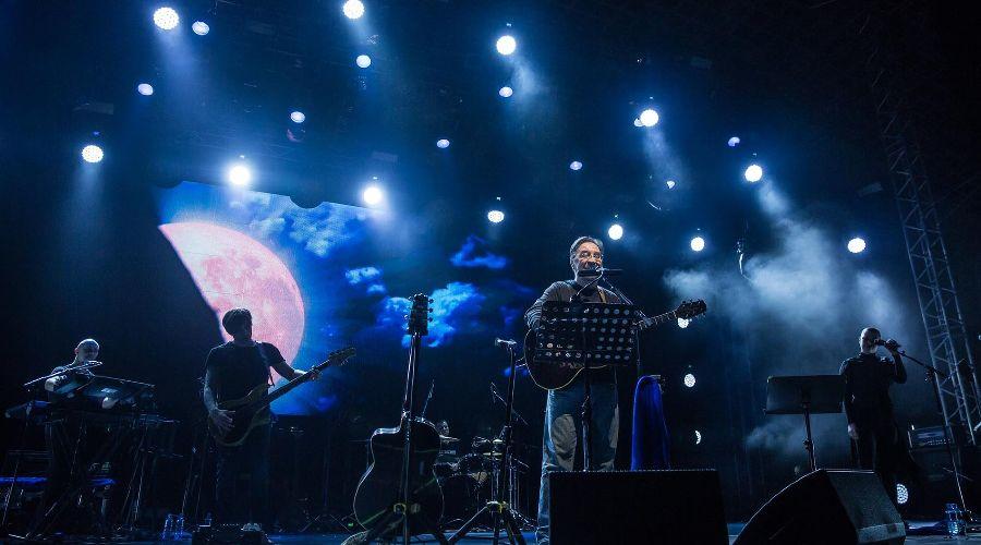 Юрий Шевчук и группа ДДТ © Фото Евгения Резника, Юга.ру