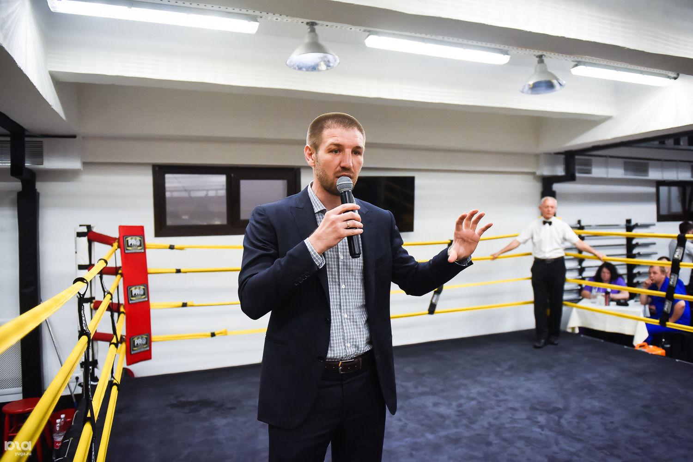 Дмитрий Пирог на турнире Лиги Бокса