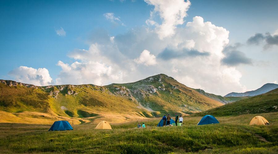 Лагонакское нагорье и Фишт-Оштенский горный массив © Фото Елены Синеок, Юга.ру