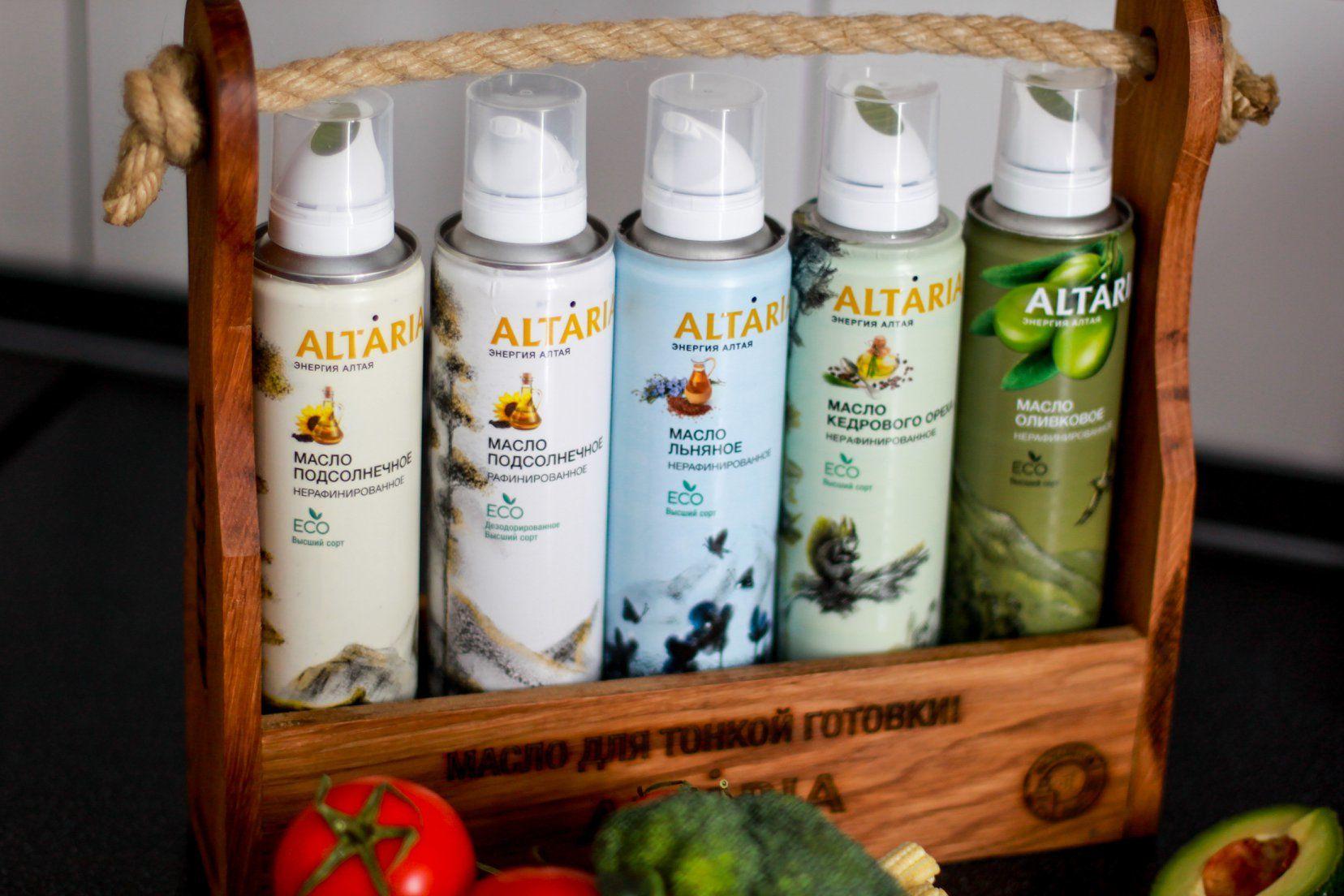 Масло-спрей Altaria © Фото предоставлено производителем