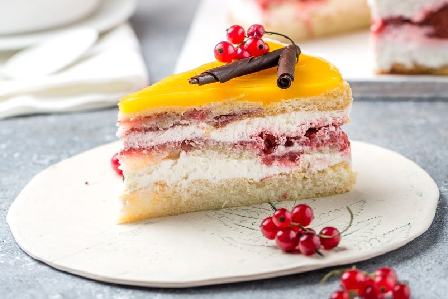 Торт «Ягодное танго»