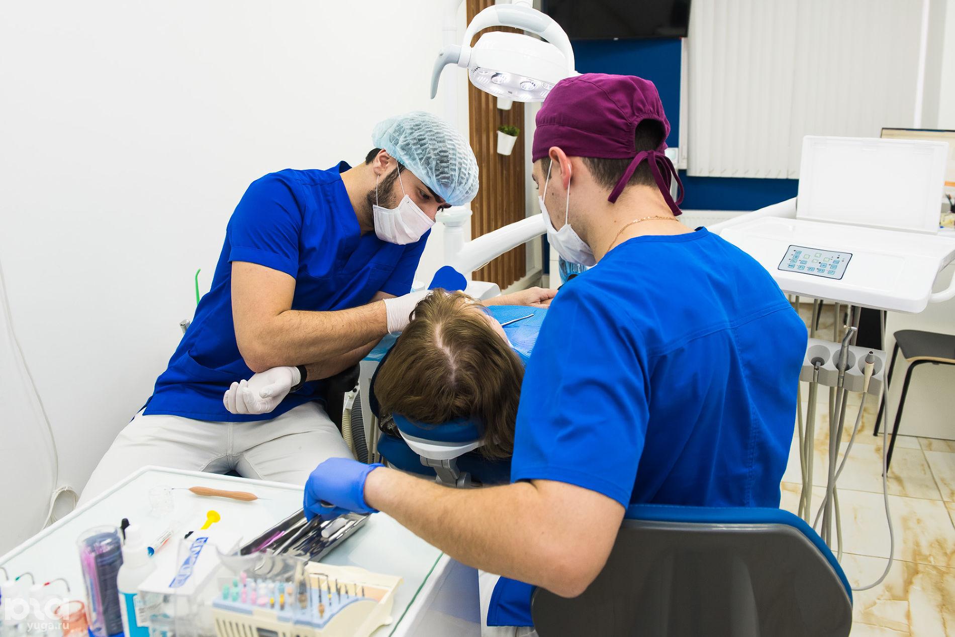 Лечение зубов в клинике World Dent © Фото Елены Синеок, Юга.ру