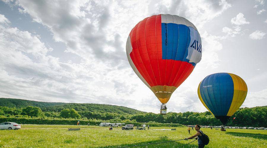 Фестиваль воздухоплавания «Абинская Ривьера», 2017 год © фото Юга.ру