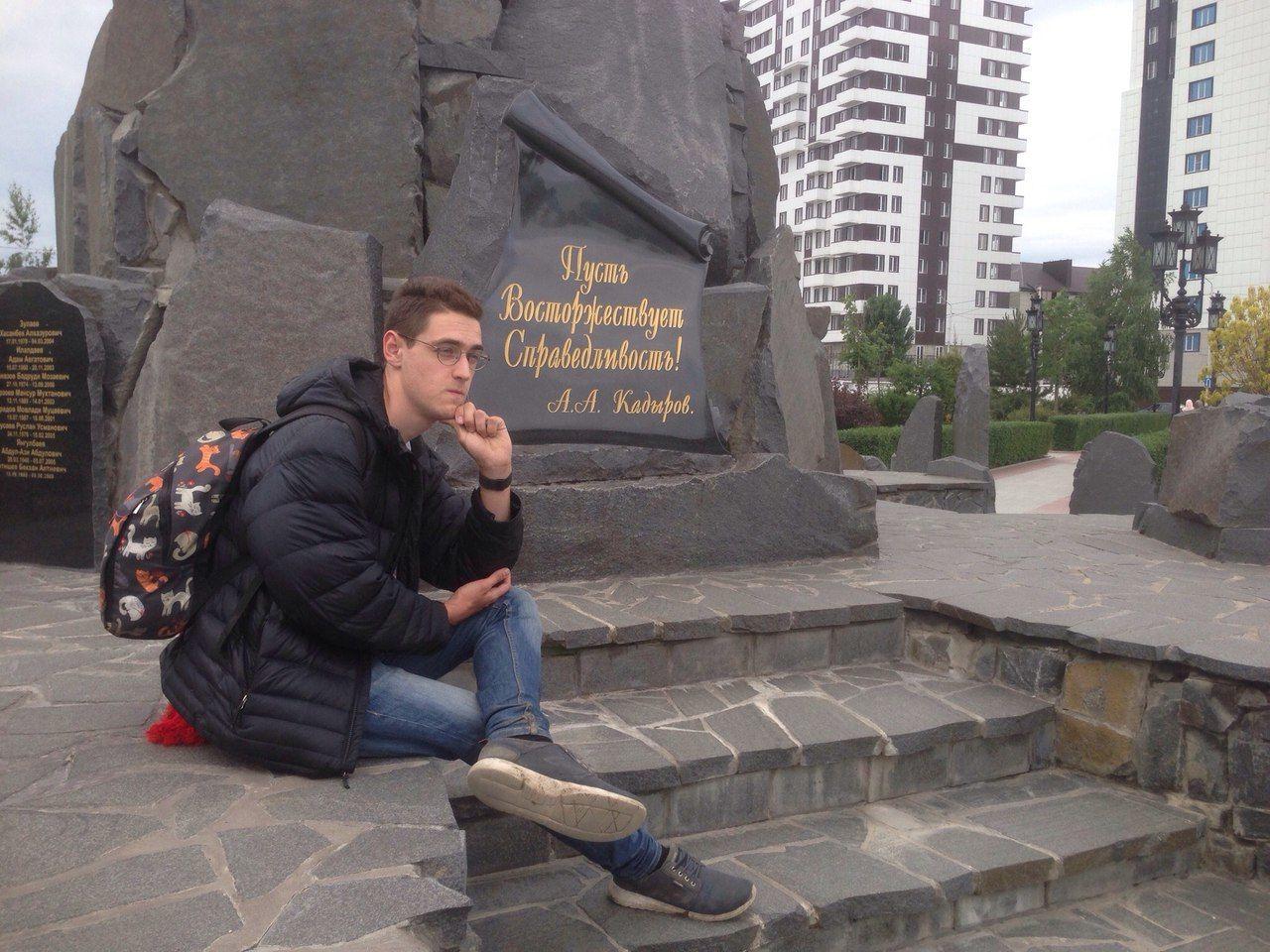 Михаил Кондратенко в Грозном