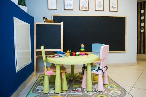 Детский уголок в клинике ©Фото Елены Синеок, Юга.ру