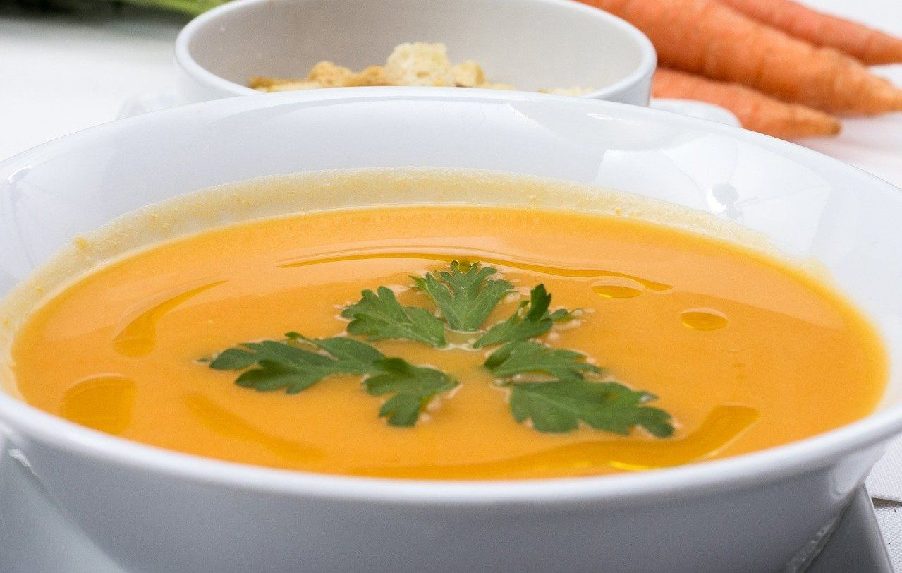 Морковный суп-пюре © Изображение Christo Anestev с сайта pixabay.com