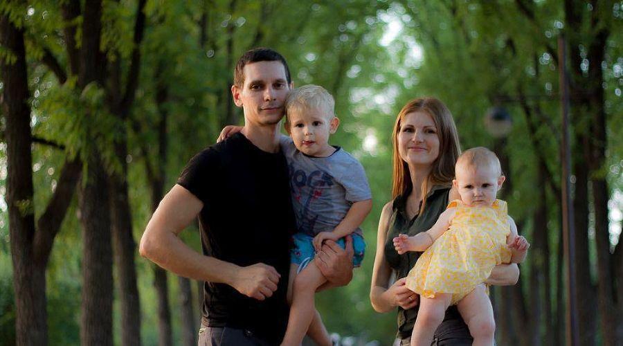Юлия Чистякова с семьей © фото из личного архива