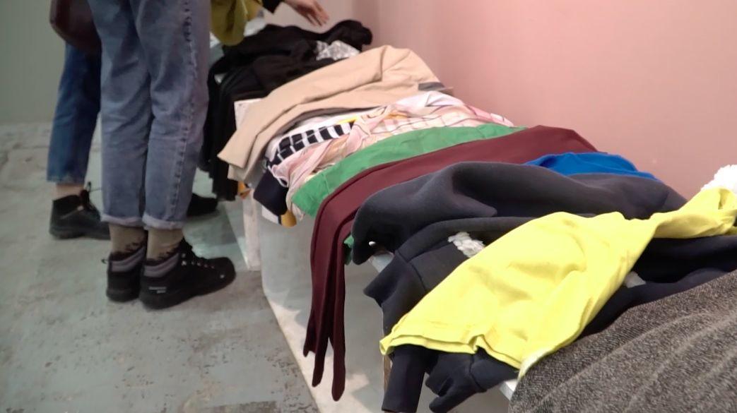 Своп-вечеринка в «Типографии» © Кадр из видео Владимира Кондратенко