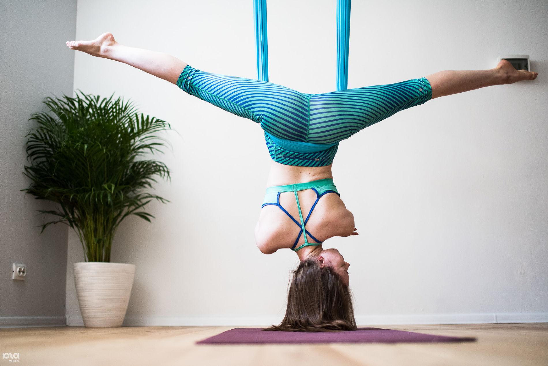 Занятие Юлии Юриковой в Proskura Yoga © Фото Елены Синеок, Юга.ру